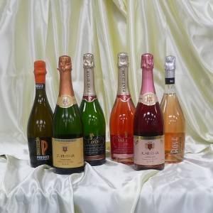 世界のお手頃スパークリングワイン 6本セット - 拡大画像