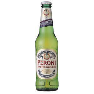 ベローニ ナストロアズーロ 瓶 (輸入ビール) 330ml×24本入り - 拡大画像
