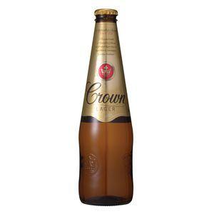 カールトン クラウン ラガー 瓶 (輸入ビール) 375ml×24本入り【3セット 計72本】 - 拡大画像