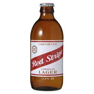 レッドストライプ 瓶 (輸入ビール) 330ml×24本入り - 拡大画像