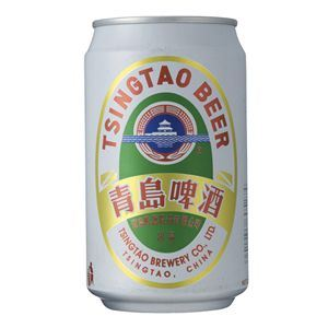 青島ビール 缶 (輸入ビール) 330ml×24本入り - 拡大画像