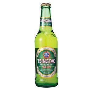 青島ビール 瓶 (輸入ビール) 330ml×24本入り - 拡大画像