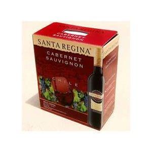 チリ産 赤ワイン サンタ・レジーナ カベルネ ソーヴィニヨン 3L (4本入 計12L) - 拡大画像