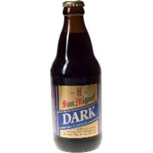 フィリピン産ビール サンミゲール ダーク 瓶 355ml×24本 - 拡大画像