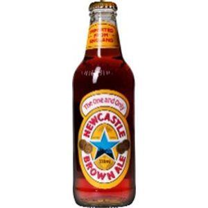 イギリス産ビール ニューキャッスル・ブラウンエール 瓶 330ml×24本 - 拡大画像