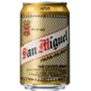 フィリピン産ビール サンミゲール 缶 330ml×24本 - 拡大画像