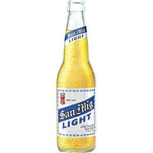 フィリピン産ビール サンミゲール ライト 瓶 330ml×24本 - 拡大画像