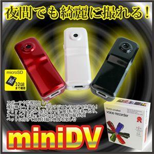 【電丸】【小型カメラ】音声コントロール機能付 DVカメラボイスレコーダー 008D ブラック (HD画質 1200万画素)