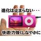 【電丸】2.2インチ薄型充電式 MP3/MP4/WMVプレーヤー 4GB typeD シルバー (第5世代カメラ付) - 縮小画像2