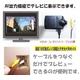 【電丸】【小型カメラ】液晶つき可動式レンズ搭載 車載ビデオカメラ DVR019 シガーソケット対応CARカメラ(内蔵電池駆動可能)  - 縮小画像5