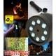 【電丸】【小型カメラ】充電式 LEDライト型カメラ NIGHTHAWK(ナイトホーク) 白色LED8灯 懐中電灯・フラッシュライトとしても【typeC】 写真6