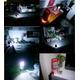 防災LEDランタン明るい20灯(JL-5288)【レッド】 写真6