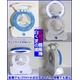 【電丸】充電式扇風機白くまの風 LEDライト付 【オレンジ】(乾電池不要) - 縮小画像2