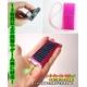 ソーラーチャージャーマルチver3 電池内蔵で手軽に使える携帯充電器 オレンジ 写真3