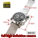 【電丸】【小型カメラ】防水60m fullHD画質 腕時計型フルハイビジョンカメラ【W040】 2011秋冬モデル・ハイビジョン - 縮小画像3