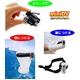【電丸】HD画質1200万画素DVカメラボイスレコーダー008D+防水ハウジングセット - 縮小画像2