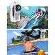 【電丸】HD画質1200万画素DVカメラボイスレコーダー008D+防水ハウジングセット - 縮小画像3