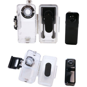 カメラ 小型 防水ハウジングセット DVカメラボイスレコーダー008D HD高画質1200万画素 nk008d-hu