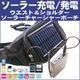 ウエスト&ショルダーソーラーチャージャーマルチポーチ 電池内蔵で手軽に使える携帯充電器ポーチ 太陽光による充電/発電 - 縮小画像1