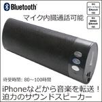 トーキングBluetoothスピーカー【スーパーバス】ブルートゥース iPhoneスマートフォンに