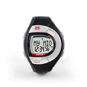 Mio(ミオ) 心拍計測機能付きスポーツ腕時計 Drive +(ドライブ プラス) 04-011 - 拡大画像