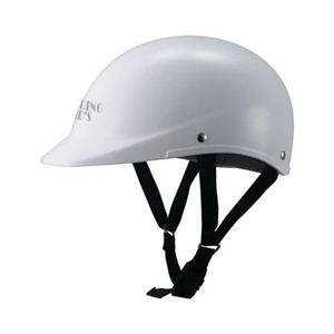 新型一体式ハーフヘルメット フリー ガンメタリック DK-302 - 拡大画像