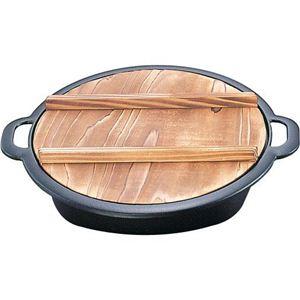 すき焼兼用餃子鍋 20044 0350010035 - 拡大画像