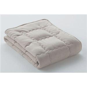 フランスベッド ベッドパッド キャメルベッドパッド セミダブルサイズ 35834230 - 拡大画像