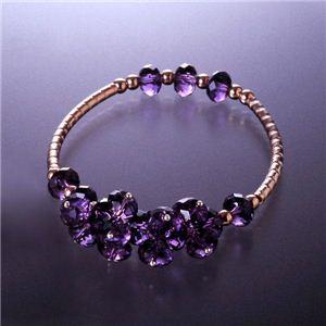 BL-344 ノーブルブレス 紫水晶タイプ - 拡大画像
