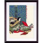 【刺繍(ししゅう)キット】【手芸】 7186(ベージュ) 「日本の美」名作選 秋好中宮図