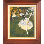 【刺繍(ししゅう)キット】【手芸】 876(ベージュ) アートギャラリー 「舞台の踊り子」ドガ作