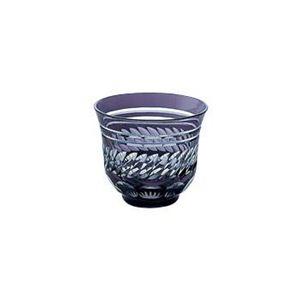 650-198-7 江戸切子 菱重ね 71カット 冷茶