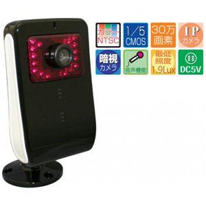 マザーツール MTC-21296IRIP 暗視機能付ネットワークIPカメラ - 拡大画像