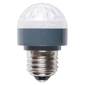 MS形防滴LEDランプ橙 LMS402618OR - 拡大画像