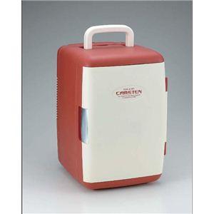 【送料無料】 カーステン 2電源式温冷蔵庫 CS-01 レッド