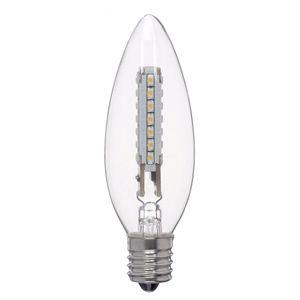 LED電球シャンデリア形2W LC32172WCL - 拡大画像