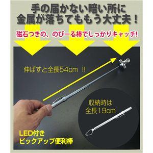 LED付きピックアップ便利棒  - 拡大画像