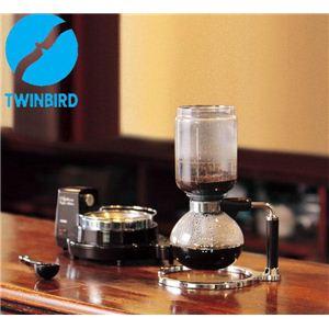 サイフォン式コーヒーメーカー CM-D853BR  - 拡大画像
