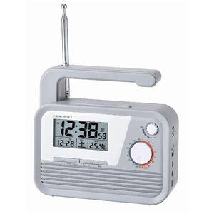 ダイナモラジオ電波時計 C-6020 - 拡大画像