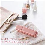 携帯用ナノミスト美顔器ハンディミスト uruosyウルオシー(専用化粧水50ml付) ピンク・HM-U1P