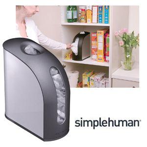 simplehumanシンプルヒューマン アップライトバッグホルダー - 拡大画像