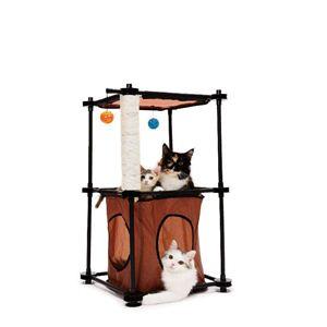 5780860-0 D-カルチャー SPORT PET(スポーツペット) キャットシティ タワー - 拡大画像