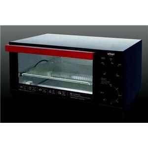 アイリスオーヤマ オーブントースター レッド/ブラック EOT-130K - 拡大画像