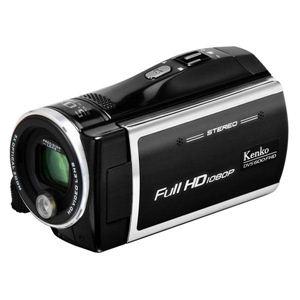 ケンコー フルハイビジョンデジタルビデオカメラ DVS-600FHD BK - 拡大画像