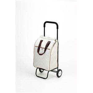保冷ショッピングカート フリオ GCF-1 WH(ホワイト) - 拡大画像