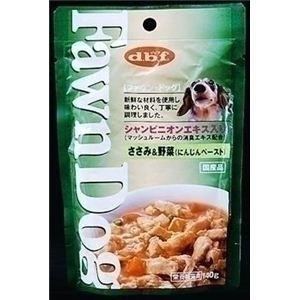 111850 デビフ ドッグフード Fawn Dog ささみ&野菜(にんじんペースト) 140g×48袋 - 拡大画像