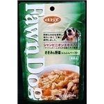 111850 デビフ ドッグフード Fawn Dog ささみ&野菜(にんじんペースト) 140g×48袋