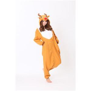【クリスマスコスプレ】サザック フリーストナカイ着ぐるみ 大人用フリーサイズ GO 2758 - 拡大画像