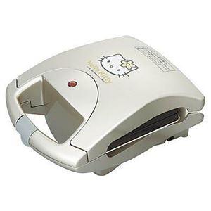 ツインバード ハローキティホットサンドメーカー HP-4383KT - 拡大画像