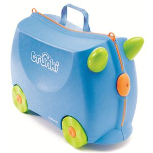 trunki(トランキ) 子供用スーツケース ポッシュ TRK005 ブルー - 拡大画像